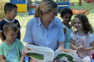 Children Reading at Robina First Early learning Centre