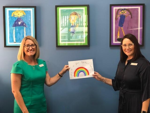 Head of Junior School, Mrs Amanda Shuttlewood (left) and Deputy Head of Junior School, Mrs Melissa Wilkins (right).