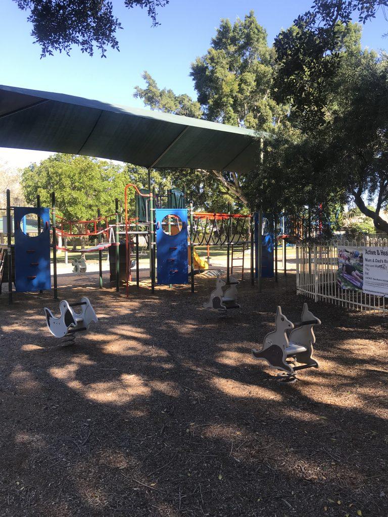 Older style playground