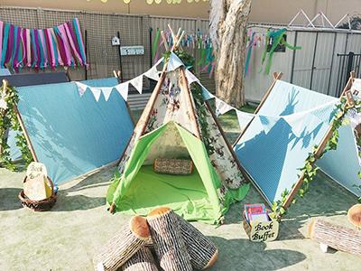 Robina Childcare outdoor area