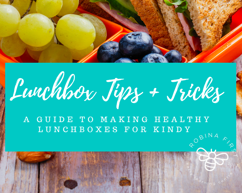 Lunchbox tips for kindy